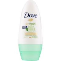 Dove Go Fresh Deodorante Roll-On Cetriolo e Te Verde 50 ml in vendita da Caddy's Shop Online in offerta