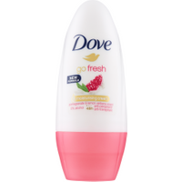 Dove Go Fresh Deodorante Roll-On Melograno e Erba Cedrina 50 ml in vendita da Caddy's Shop Online in offerta