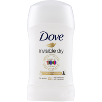 Dove Invisible Dry Deodorante Stick 30 ml in vendita da Caddy's Shop Online in offerta