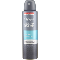 Dove Men Care Clean Deodorante Spray 150 ml in vendita da Caddy's Shop Online in offerta