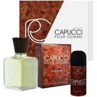 Capucci Homme After Shave 100ml + Deodorante 150 ml in vendita da Caddy's Shop Online in offerta