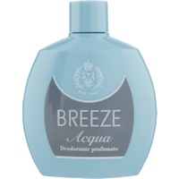 Breeze Acqua Deodorante Squeeze 100 ml in vendita da Caddy's Shop Online in offerta