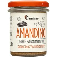AMANDINO Crema di Mandorle Tostate Bio 180g Damiano Organic All Supplements IT
