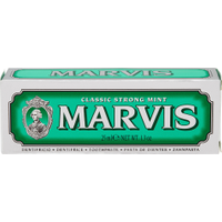 Marvis Classic Strong Mint 25 ml in vendita da Caddy's Shop Online in offerta