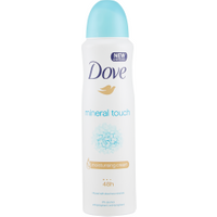 Dove Mineral Touch Deodorante Spray 150 ml in vendita da Caddy's Shop Online in offerta
