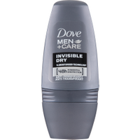 Dove Men Care Invisible Dry Deodorante Roll-on 50 ml in vendita da Caddy's Shop Online in offerta
