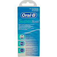Oral-B Filo Interdentale Super Floss 50 Fili Pre-Tagliati in vendita da Caddy's Shop Online in offerta