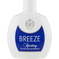 Breeze Sporting Deodorante Squeeze 100 ml in vendita da Caddy's Shop Online in offerta