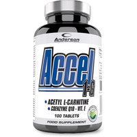 Accel 1-G Carnitina 100 cps Anderson Research All Supplements IT