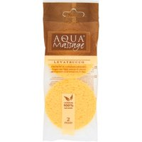 Aqua Massage Struccante Naturale 2 Spugne in vendita da Caddy's Shop Online in offerta