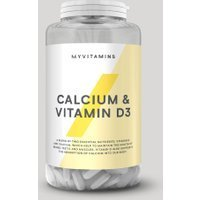Vendita Compresse di Calcio & Vitamina D3 - 180Compresse in offerta MyVitamins